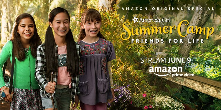 """Amazon Original Special """"An American Girl Story: Summer Camp, Friends for Life"""" Now Available Exclusively for Prime Members"""
